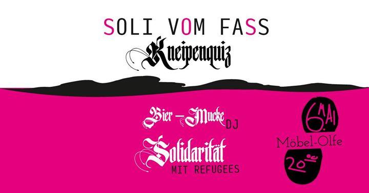 SOLI VOM FASS – Kneipenquiz  Schluss mit der Montagsdep...